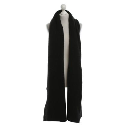 Acne Schal in Schwarz