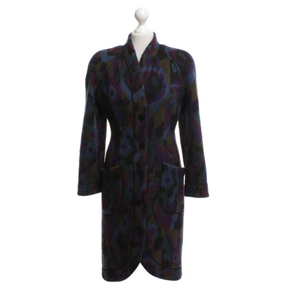 Missoni Wool coat with ethnic pattern