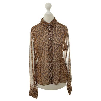 Dolce & Gabbana Lichte Leopard print blouse