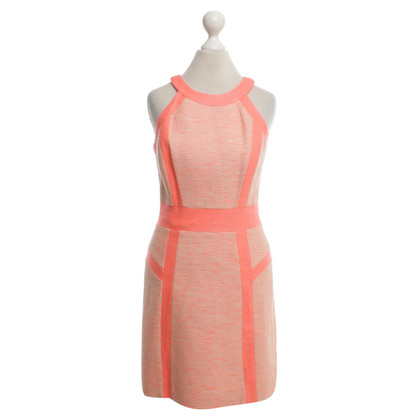 Milly Dress in coral red