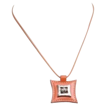 Hermès Necklace in Orange