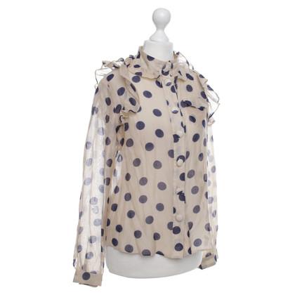 Baum und Pferdgarten Polka dot blouse