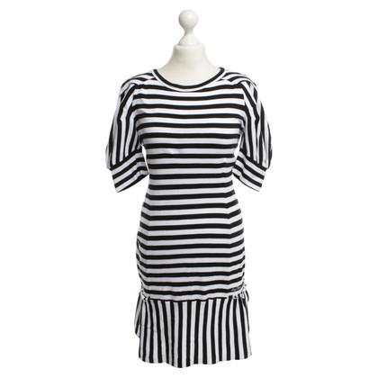 Louis Vuitton Dress in black and white