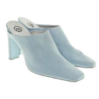 La Perla Mulets en bleu