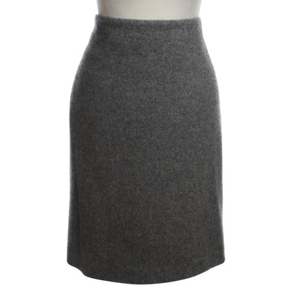 Akris Cashmere skirt in Gray