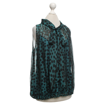 Moschino Cheap and Chic Blouse in green / black