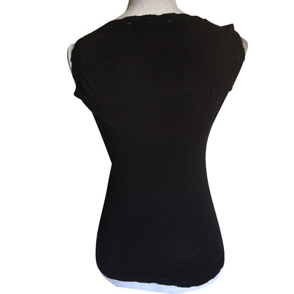 Dolce & Gabbana Black top with lace