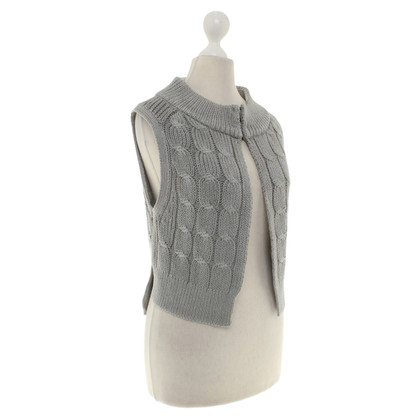 Dorothee Schumacher Knitted vest in blue-grey