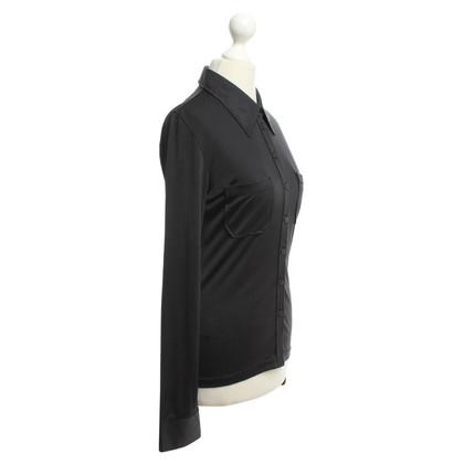 Schumacher Silk blouse in black