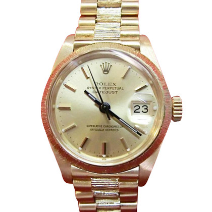 "Rolex ""Oyster Datejust 750 Gold"""