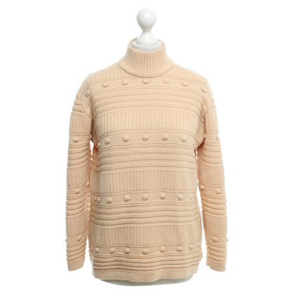Courrèges wool jumper in Nude