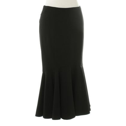 Ralph Lauren Godet skirt in black