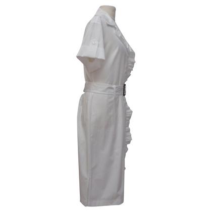 Prada Summer dress with ruffles