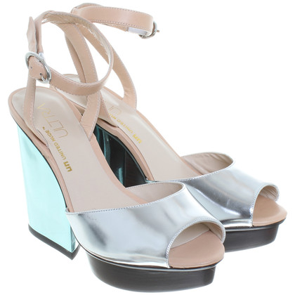 Other Designer United nude - wedge sandals in metallic