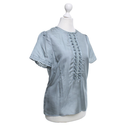 Noa Noa Silk blouse in blue