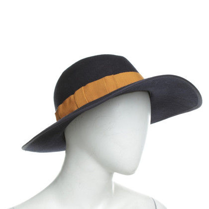 Forte Forte Hat in blue