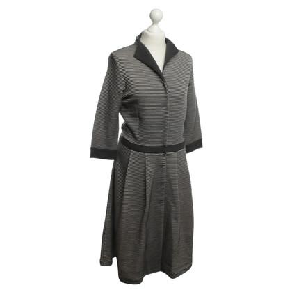 Hugo Boss Wollen jurk met streep