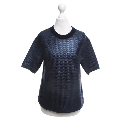 Tory Burch Gebreide trui in donkerblauw