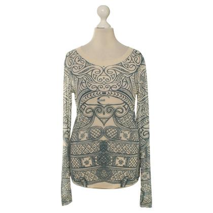 Just Cavalli top pattern print
