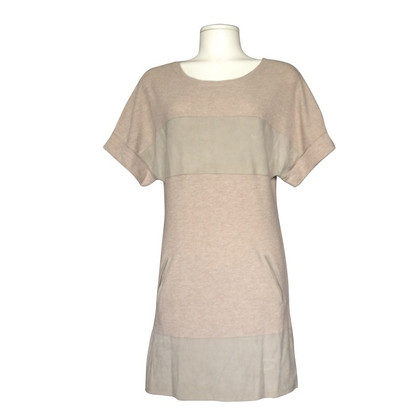All Saints Mini Kleid mit Lederimitat
