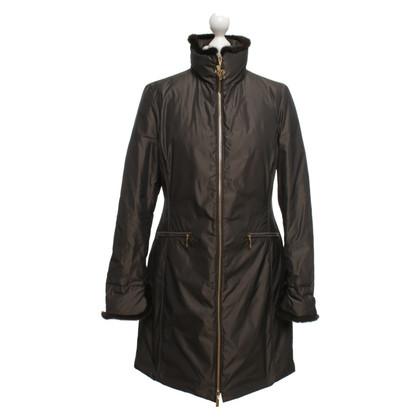 Moncler Coat in dark brown