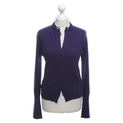 Brunello Cucinelli Cashmere cardigan in purple