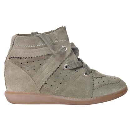 Isabel Marant Etoile Sneaker Wedges Suede