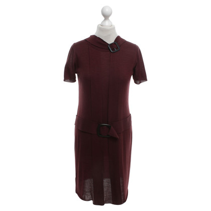 Prada Strickkleid in Bordeaux
