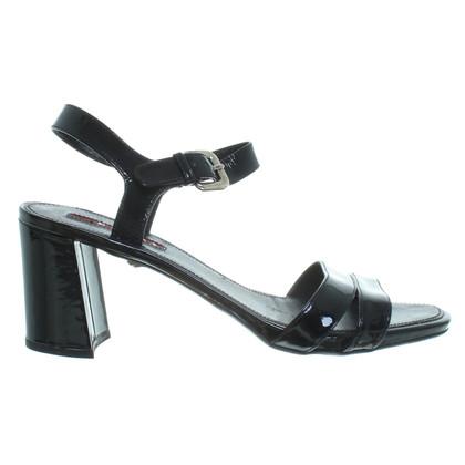 Prada Lack-Sandaletten