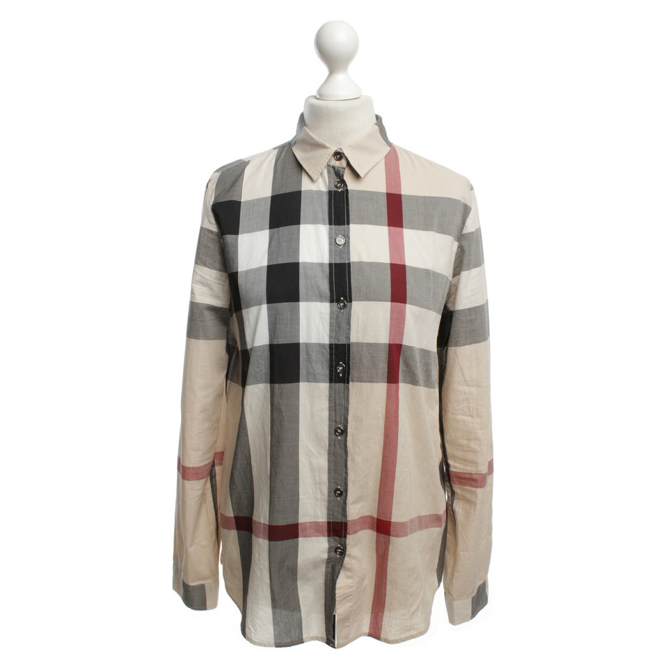 Burberry Brit Shirt With Nova Check Pattern Buy Second