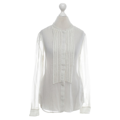 Diane von Furstenberg Silk blouse in cream