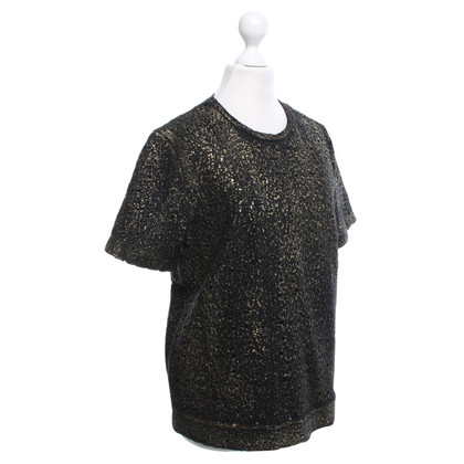 Bottega Veneta top with gold-colored details