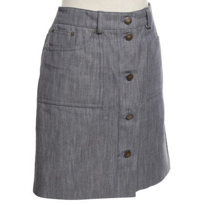 Louis Vuitton Jeans-skirt in gray blue