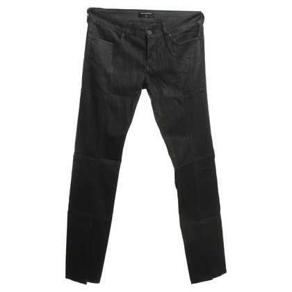 Karl Lagerfeld Coated jeans in black
