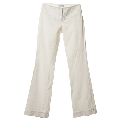 Chanel Pant in white