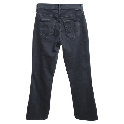 Mother trousers in dark gray