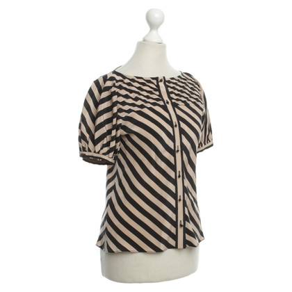 Fendi Silk blouse with wrinkles