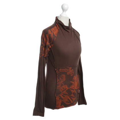 Jean Paul Gaultier Top in Brown