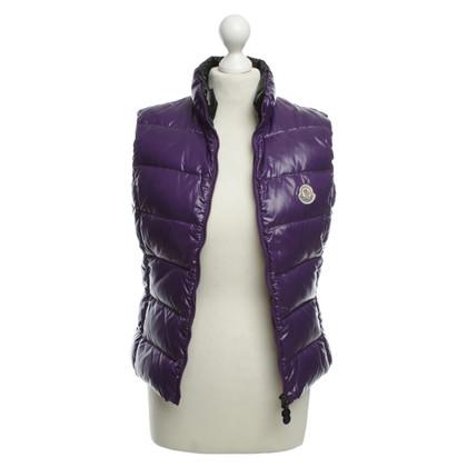 Moncler Giù giacca viola