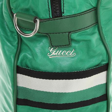 Gucci Tote Bag in Grün Grün Verkauf Des Niedrigen Preises Online Billig Holen Eine Beste Neue Stile Verkauf Online Freiraum Für Billig Jfwvus6O57