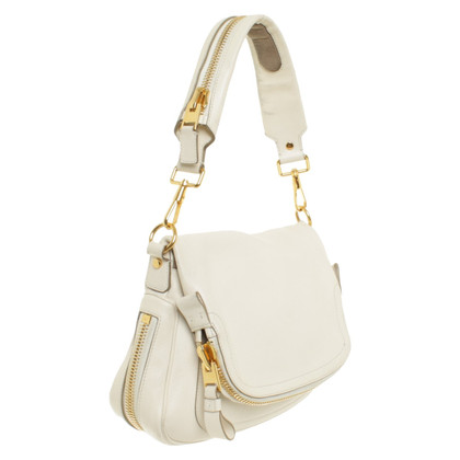 "Tom Ford ""Jennifer Flap Bag"" in cream"