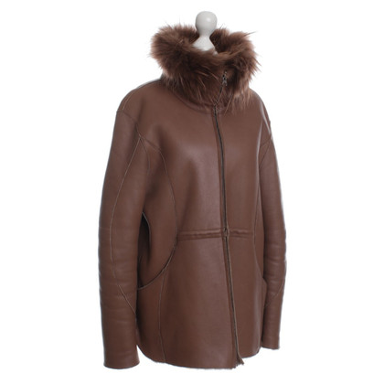 Dorothee Schumacher Short Sheepskin coat