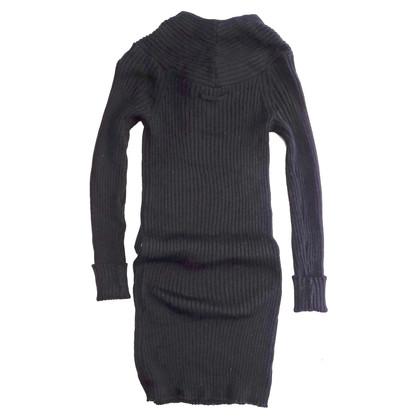 Jean Paul Gaultier Gebreide wollen jurk