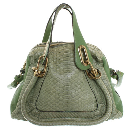 "Chloé ""Paraty Bag"" made of python leather"