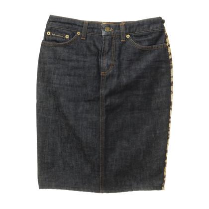 D&G Jeans skirt animal-look