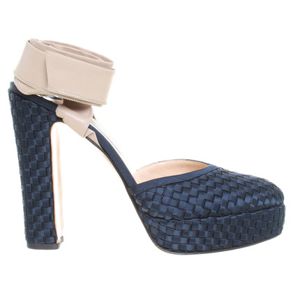 Other Designer Bionda Castana - plateau-Pumps in dark blue