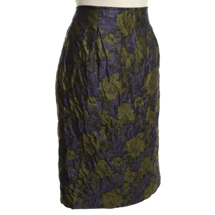 Salvatore Ferragamo skirt with floral pattern