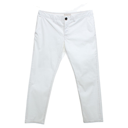 Stefanel Chinos in white