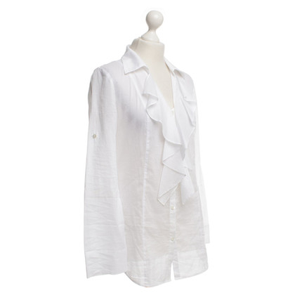Laurèl Blouse in white