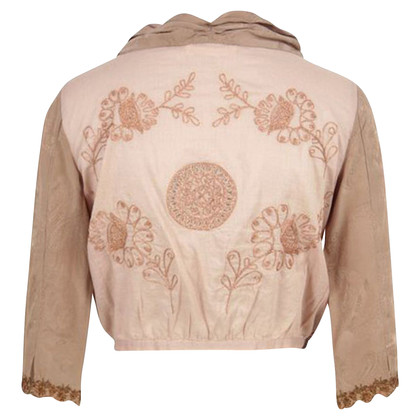 Odd Molly Pink embroidered jacket